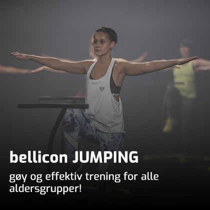 bellicon JUMPING, mini trampoline, JUMPING Fitness